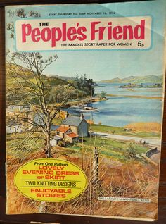 Vintage British Magazine  The People's Friend by TheCreativeHearth