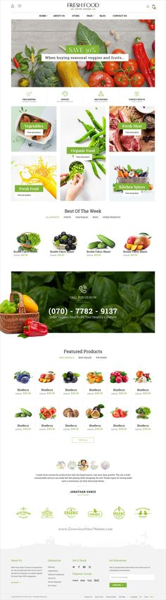Fresh food is a wonderful 4in1 responsive HTML #bootstrap template for #organic, food, fruit, #vegetables shop eCommerce website download now➩ https://themeforest.net/item/fresh-food-organic-foodfruitvegetables-ecommerce-html-template/19643160?ref=Datasata