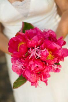 New wedding beach bouquet pink ideas Beach Wedding Bouquets, Wedding Centerpieces, Wedding Flowers, Wedding Beach, Bouquet Wedding, Trendy Wedding, Floral Wedding, Wedding Dresses, Hot Pink Bouquet