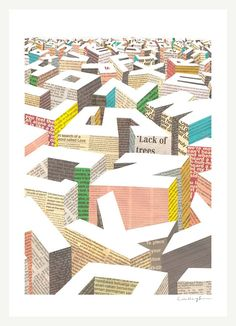 """The Capital"" - Giclee print, via Etsy (ilovedoodle)."