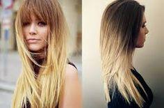 Risultati immagini per tagli capelli sfilati lunghi