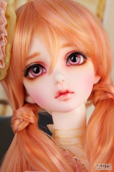 Ann from LUTS. Beautiful ball jointed doll. More