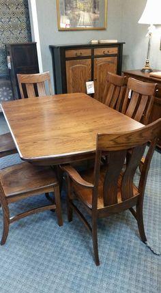 "Oak 42 x 66"" Galveston Table"