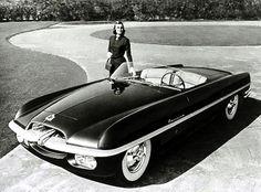 1953 Dodge Firearrow concept car