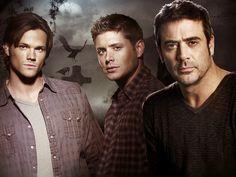 The Winchester Men: Sam (Jared Padalecki), Dean (Jensen Ackles), & John (Jeffrey Dean Morgan) by christy