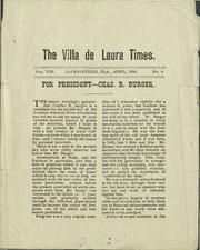 """The Villa de Laura Times -- one of Jacksonville's """"indie"""" newspapers from the Vintage Florida, The Borrowers, Indie, Archive, Villa, Internet, Times, Free, Fork"""