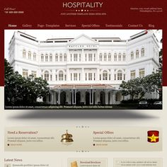 Hospitality WordPress Theme | Best WordPress Themes 2013
