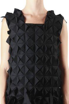 YOHJI YAMAMOTO - 3D Origami Dress