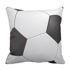 Football Soccer Pillows on Branddot