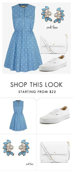 """""""Oasis"""" by parklanejewelry ❤ liked on Polyvore featuring Yumi, Vans and Tory Burch"""