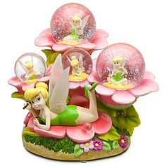 Welcome to the Collectors Guide to Disney Snowglobes. Information on over 2900 Disney snow globes. Tinkerbell, Disney Fairies, Walt Disney, Disney Toys, Water Globes, Snow Globes, Disney Music Box, Disney Snowglobes, I Love Snow