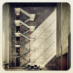 Best Arne Jacobsen National Bank Stairs Steps Stairs 400 x 300