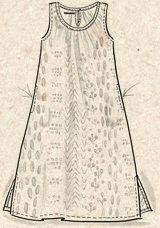 """Katoenen jurk """"Korall""""–Zomer op het eiland–GUDRUN SJÖDÉN – Kleding Online & Postorder"""