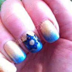 Hanukkah Nails!