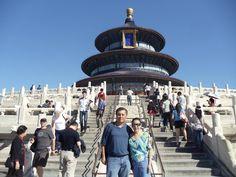Templo del Cielo en Beijing - Fotografía: Fernando Eng Pérez Beijing China, Louvre, Building, Travel, The Neighbourhood, Cruise, Nocturne, Temple, Walks