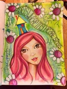 Lifebook 2015 art journal page