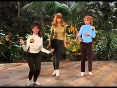 "Gilligan's Island episode ""Don't Bug the Mosquitos"" Maryann, Ginger, and Mrs. Howel as 'The Honey Bees' singing ""You Need Us"""