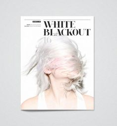 White Blackout Magazine /  we and the color
