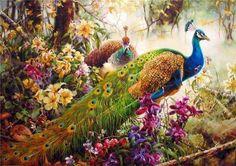Lucia Santo - Peacocks