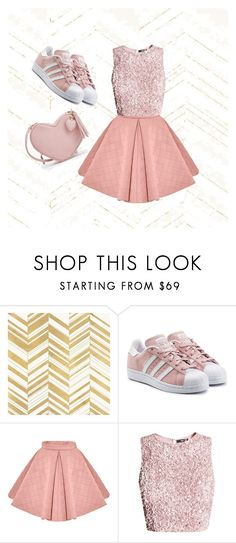 """""""Untitled #2"""" by viktoriaa22 ❤ liked on Polyvore featuring Home Decorators Collection and adidas Originals"""