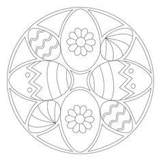 Osterei-Mandala 3