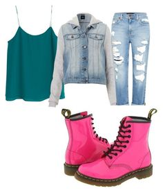 """""""Untitled #2"""" by mykaylaanne ❤ liked on Polyvore featuring MANGO and Genetic Denim"""