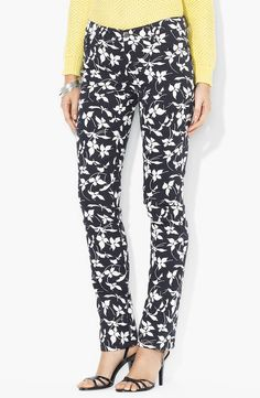 Ralph Lauren Straight Leg Ankle Pants (Petite) - http://womenspin.com/clothing/pants-shorts/ralph-lauren-straight-leg-ankle-pants-petite/