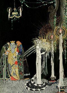 Illustration pour En poudre et Crinoline, 1912