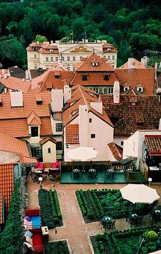 Prague: A Lovely Terrace Bar