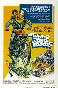 The Thing with Two Heads (1972) directed by Lee Frost