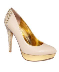 Unlisted Shoes, Block List Platform Pumps - Macy's
