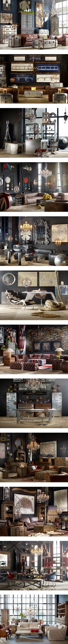 """Timothy Oulton U.K. Designer Extraordinaire"" by inspirestylevtg on Polyvore"