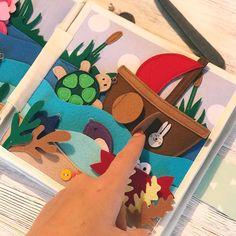 Доброго ранку, любі!  Різдвяні свята можна зустріти по-різному: не тільки під засніженою ялинкою, а й на теплому пляжі  А який ваш ідеальний Новий рік: ❄️ чи ⛵️? Мій - ❄️ #творча_майстерня_гарбузик #розвиваючакнижка #развивающаякнижка #quietbook #гарбузик_приклади_сторінок