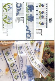 Etamin Deseni hazır olanlar 123 Cross Stitch, Cross Stitch Boards, Cross Stitch Bookmarks, Cross Stitch Flowers, Cross Stitching, Cross Stitch Embroidery, Hand Embroidery, Cross Stitch Patterns, Embroidery Ideas