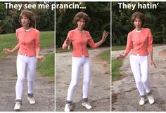 How can anyone hate the inventor of #prancercise ? She seems so sweet!