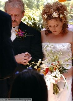 Weddings - Manning Florist - here is a photo from our wedding--Rachel and her dad--I can't believe it's been 11 years.
