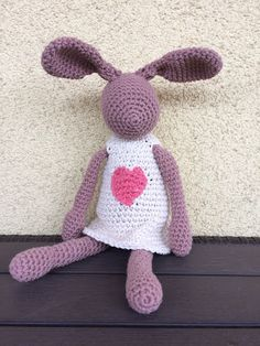 crochet bunny (pattern by eineIdee)