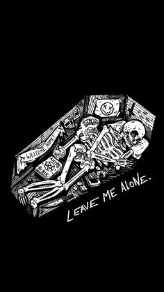 Living in darkness Skull Wallpaper, Sad Wallpaper, Black Wallpaper, Gothic Wallpaper, Wallpaper Backgrounds, Wallpapers Geek, Aesthetic Wallpapers, Tattoo Bein, Skeleton Art