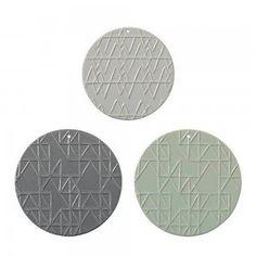 Set of 3 Ceramic Platters