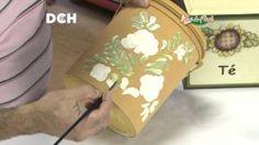 5 clase pintura decorativa. Estilo Bauern, técnica doble carga