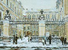 Капелла. Зимний день, автор Еськов Павел. Артклуб Gallerix