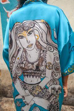 Beautiful Princess Amogasiddhi KIMONO