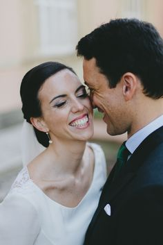 A close up to the couple. Wedding photographer in Andalusia. #weddingPhotos #candidPhotos #pedroBellidoPhotography