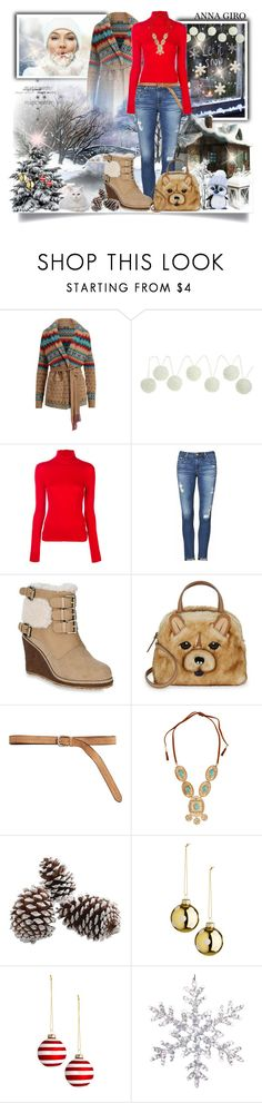 """Casual winter set #1"" by annagiro ❤ liked on Polyvore featuring Calvin Klein 205W39NYC, AG Adriano Goldschmied, Australia Luxe Collective, Kate Spade, Bergè, Lydell NYC and Wilton"