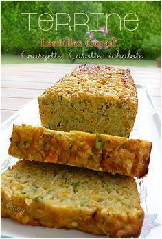 Plat Vegan, Vegan Nutrition, Yummy Food, Tasty, Meatloaf, Lentils, Food Videos, Entrees, Banana Bread