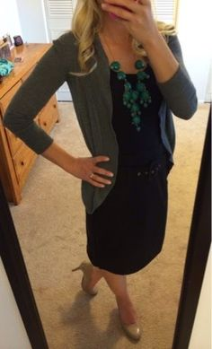 Thrifty Wife, Happy Life: My Closet~ Work outfit