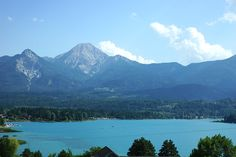 Faaker See Kärnten, Austria Austria, Places Ive Been, Wanderlust, Spaces, Mountains, Pretty, Travel, Cities, Villach