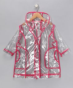 Take a look at this Fuchsia Transparent Raincoat - Infant, Toddler & Kids on zulily today!