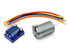 Power up your 1/8-scale electric buggy or truck! LRP iX8 ESC & Dynamic 8 Brushless Motor Combo (2200kV)
