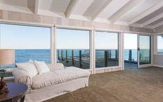 Leonardo DiCaprio-- Ocean View The entire second floor commands breathtaking views of the Pacific Ocean.
